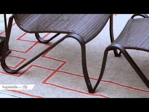 Patio Logic Wicker Z Chair Chat Set - Product Review Video
