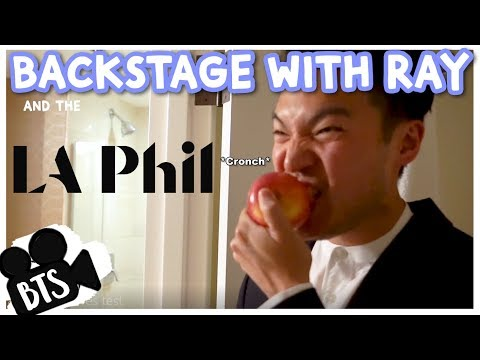 Backstage With Ray Chen & The LA Phil