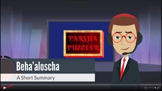 Jewish Animated Torah Videos: Beha'aloscha Summary