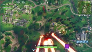 FORTNITE WEEK 4 SEARCH BETWEEN A GAS STATION, SOCCER FIELD AND STUNT MOUNTAIN BATTLE STAR LOCATION