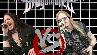 DragonForce  ZP Theart VS Marc Hudson  Split audio USE HEADPHONES
