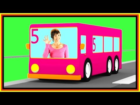 Thumbnail: Learn Numbers with TAYO Number 5 Bus Game Cartoon Cars! 타요 도로놀이 장난감