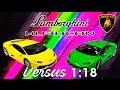 Versus 1:18 / Lamborghini Huracán LP 610-4, de Welly & Bburago.