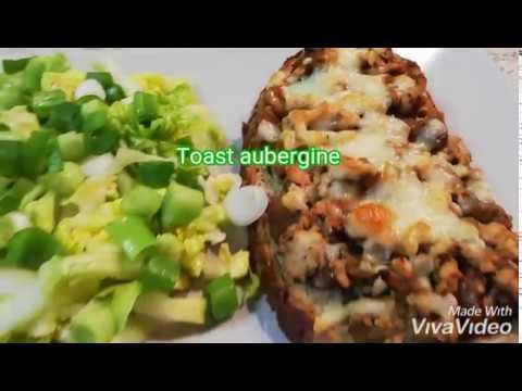 recette-simple-toast-aubergine-viande-hachée