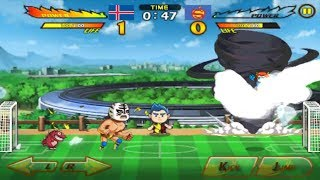 Iceland Fight Mode Head Soccer Series 12/76 Characters