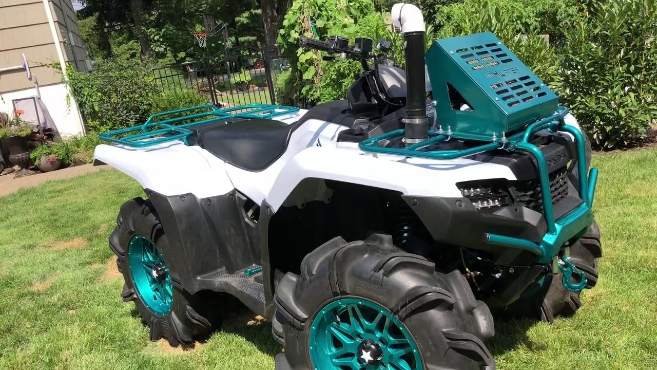 Most Badass Honda Rancher 420 Around! (Reveal)