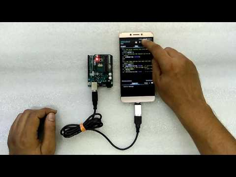 How to program arduino using android phone (Vikram)