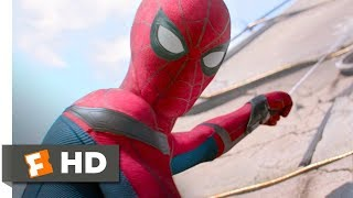 Spider-Man: Homecoming (2017) - Washington Monument Rescue Scene (3/10) | Movieclips