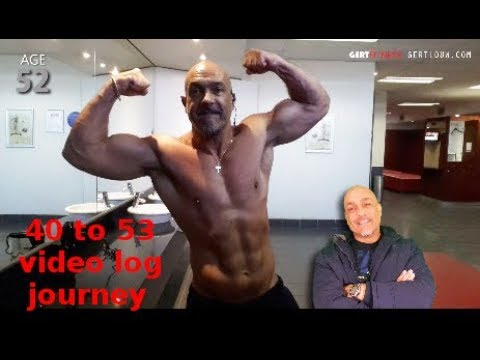 13 YR video log of transforming my body against the odds (40-53)