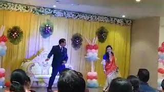 Couple dance choreography by darshana darji....at 25 anniversary