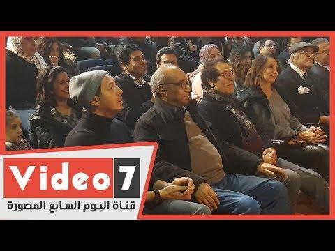 فاروق حسني ومصطفي شعبان وعبدالله مشرف يشاهدون سينما مصر  - 11:00-2020 / 2 / 22