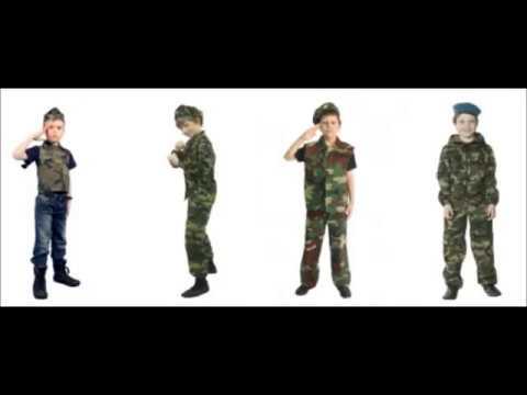 Детские Военные Костюмы Военная Форма