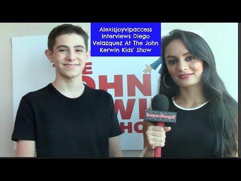 "Diego Velazquez Talks Last ""The Thundermans"" Episode -  Interview - John Kerwin Kids Show"