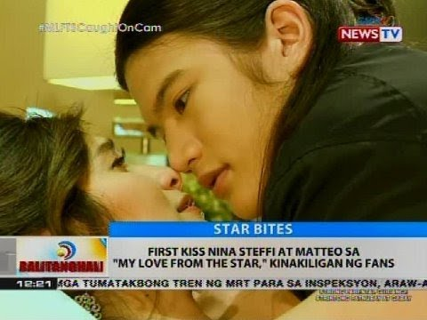 First kiss nina Steffi at Matteo sa 'My...