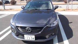 マツダアテンザXDレビュー Mazda 6 diesel review