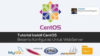 Cara Instalasi/Konfigurasi Web Server Linux Centos (Apache, MySQL, phpMyAdmin) di Virtual Box(Berikut ini video tutorial Tutorial Instalasi Web Server (Hosting) Linux Centos dan Konfigurasi Apache Php MyAdmin, merupakan kompilasi tugas mahasiswa ..., 2016-01-13T02:14:58.000Z)