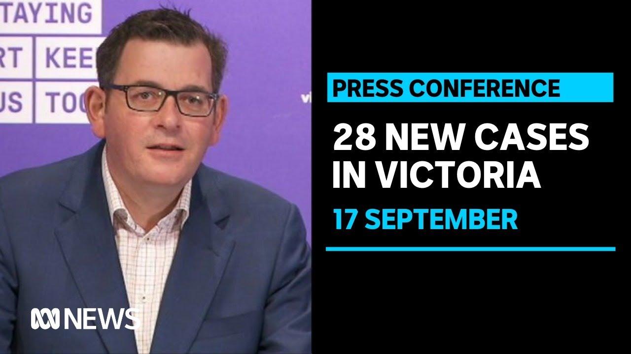 Victoria Records 28 New Covid Cases As Melbourne S 14 Day Average Drops Abc News Youtube