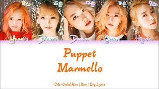 Marmello (마르멜로) - Puppet [Color Coded Han|Rom|Eng Lyrics]