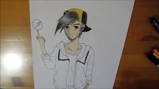 Speed Drawing - Pokemon-Trainer Gold