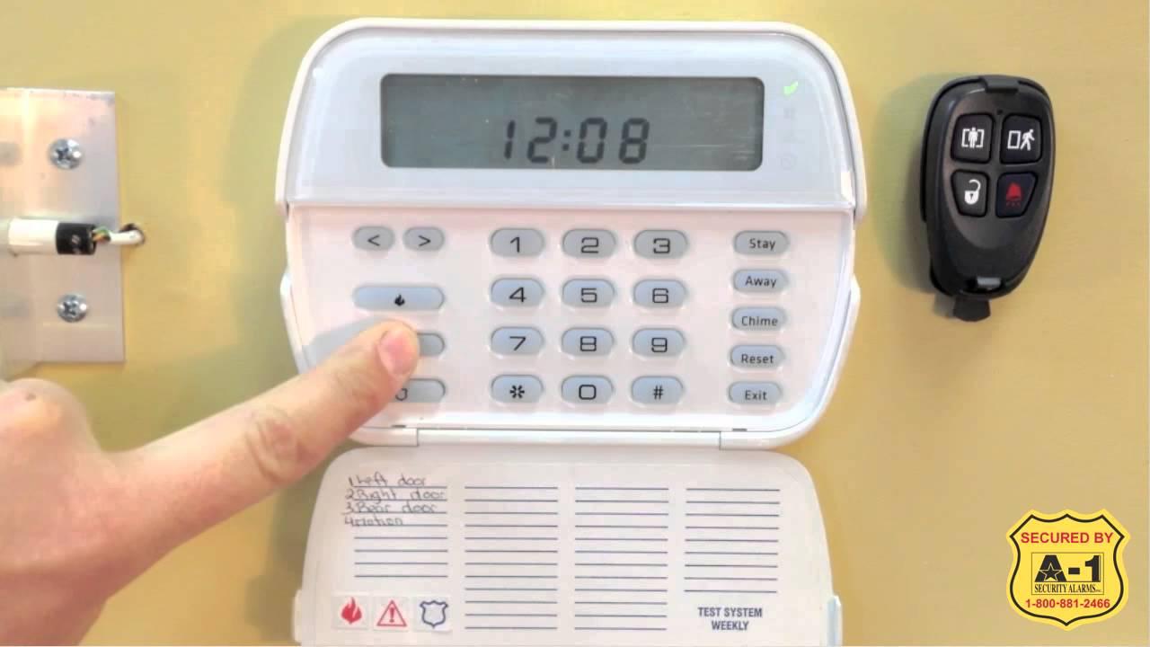 a 1 dsc how to test your dsc alarm system funnycat tv. Black Bedroom Furniture Sets. Home Design Ideas