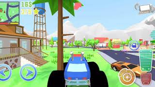 Dude Theft Wars #71 | With Code NOSFOREVER Monster Truck | New Update AIRPORT | Android GamePlay FHD