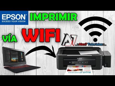 Como Configurar Epson L355 Para Imprimir Por Wifi Wps
