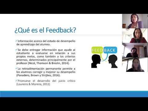 Clase Retroalimentación- Recursos pedagógicos Psicología UDD