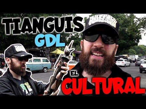 TIANGUIS CULTURAL MERCADO DE PULGAS GUADALAJARA GDL MEXICO CDMX MADHUNTER