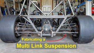 Making a Custom Multi Link Suspension / 5 Link - E55 ASL Part 12