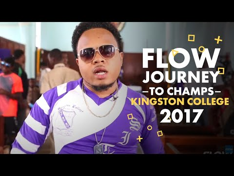 Kingston College Journey to Champs 2017- #FlowChamps