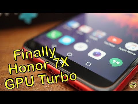 Honor 7X GPU Turbo Update| Call Recording| Party Mode 2019