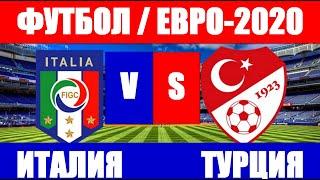 Футбол Чемпионат Европы по футболу 2021 Евро 2020 Турция Италия
