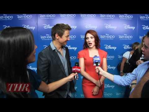 Scarlett Johansson And Jeremy Renner: The Avengers