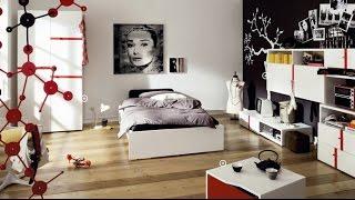 видео Комната для подростка (55 фото): дизайн подростковой, интерьер для девочки, как оформить спальню для мальчика, планировка