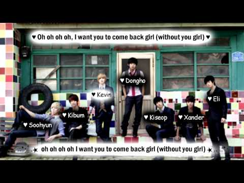 U-Kiss Without You [Eng Sub + Romanization + Hangul] HD
