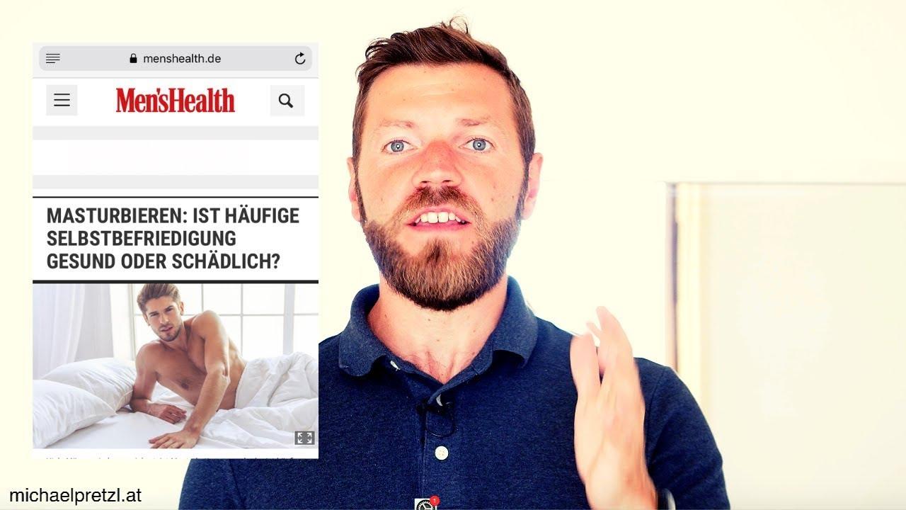 Menshealth über Masturbation - Nofap - Deutsch - YouTube