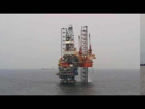 Mafumeira sul Project Drilling Rig