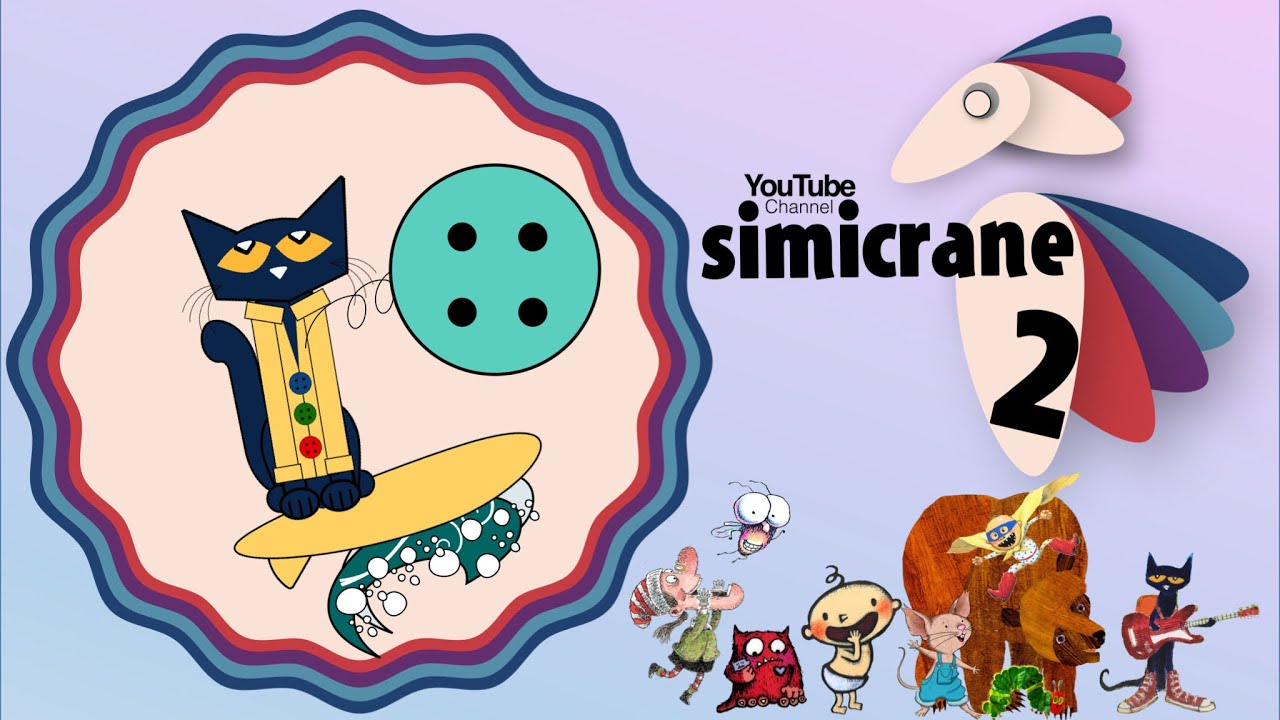 Pete The Cat And His Four Groovy Buttons Animation 1 Youtube
