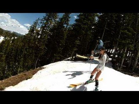 Skiing Aspen Colorado May 27 2013 With Hot Girls And Big Air Pros Memorial Day