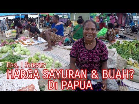 Harga Sayuran dan Buah di Pasar Wosi Manokwari, Eps I (Papua Vlog118)