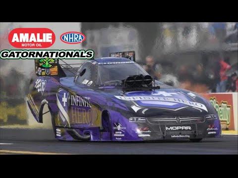 2018 NHRA Gatornationals   Funny Car Eliminations