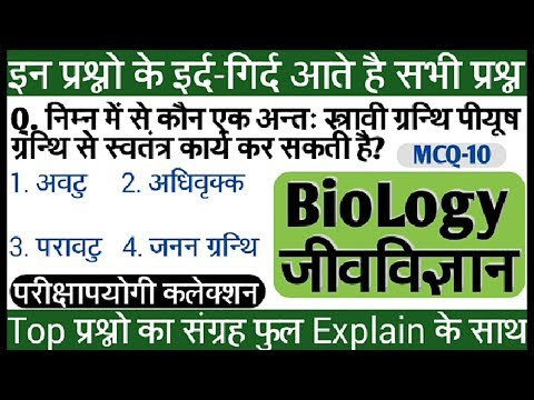 Biology MCQ-10 | जीव विज्ञान | Biology & Botany Science Question in Hindi | JeevVigyan |GK GS Point