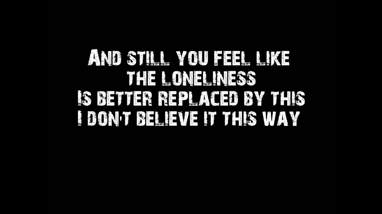 All That Remains - Two Weeks lyrics - YouTube