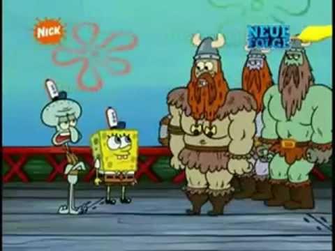 Spongebob Wikinger Olaf Olaf Youtube