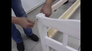 Сборка 2-х ярусной кровати. Фабрика мебели МАССИВ(, 2016-03-29T13:51:05.000Z)