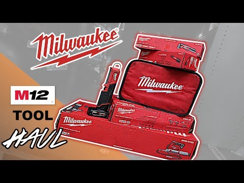 MASSIVE! Milwaukee M12 Cordless Tool haul
