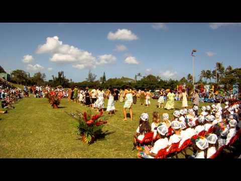 Sunset Beach Elementary School May Day 2012