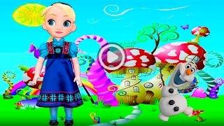 Принцесса Эльза превратила принцессу Ариэль в Олафа принцессу Белль в морскую свинку Холодное сердце