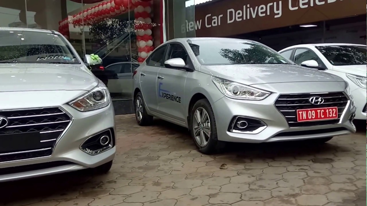 Hyundai Verna 2017|black, brown, orange, silver, white ...