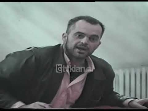 Lajme Arkiva - Ministri Edi Rama takim me aktoret (17 tetor 1998) - YouTube